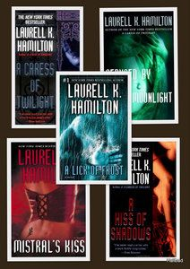 Laurell K Hamilton - Meredith Gentry Series 1-5. Also an amazing series. Love it too much lol