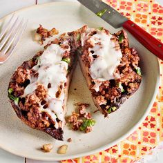 """12 Italian-American 30-Minute Meals Slideshow: Rach says: """"There's Italian and there's Italian American. The recipes here reflect both: They're spins on my family's favorite dishes or other specialties I have loved at first bite!""""  ~ #4. Beef & Watercress-Stuffed Portobello Mushrooms: Watercress is similar to arugula with its peppery and tangy flavor. In this recipe it provides great contrast to the meaty mushrooms and savory ground beef!"""