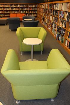 New square back chairs | New library furniture from the HON … | Flickr