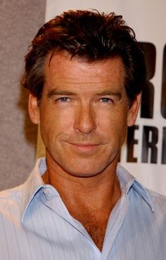Pierce Brosnan. I want to look this good when I'm his age.