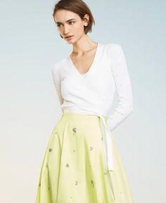 Waist Skirt, High Waisted Skirt, Knitwear, Skirts, Fashion, Moda, High Waist Skirt, Tricot, Skirt
