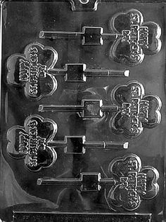 Includes 25 Cello Bags Cybrtrayd Happy Chanukah Bar Chocolate Candy Mold with Chocolate Packaging Bundle 25 Gold Twist Ties and Exclusive Chocolate-Molding Instructions
