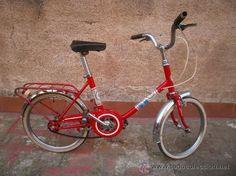 aprendi a andar de bicicleta numa igual a esta