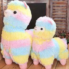 "$2.22 - 7"" Rainbow Rainbow Alpacasso Kawaii Llama Plush Alpaca Toy Doll Kids Baby Toys #ebay #Home & Garden"