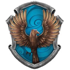 Ravenclaw Crest ❤ liked on Polyvore featuring harry potter and ravenclaw
