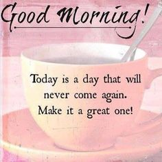 It's Monday and we're off.....make it a great week! ☕️ #goodmorning ☕ #newopportunities