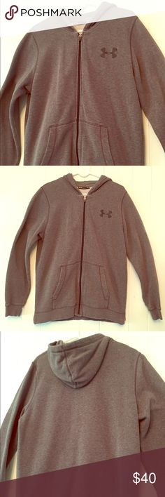 Under Armor Hoodie Grey Under Armor Hoodie, Great Condition. Under Armour Shirts Sweatshirts & Hoodies