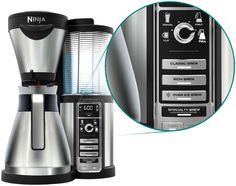 The Ninja Coffee Bar™ serves up your favorite coffee—any size, any style, at any time. Forget coffee as you know it. It's time for coffee as you want it.