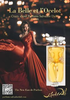 Luxury Perfumes for Her, Luxury Perfumes for Women Best Perfume, Perfume Oils, Perfume Bottles, Ocelot, Salvador Dali Perfume, Perfume Adverts, Diy Fragrance, Celebrity Perfume, Hermes Perfume