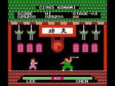 NES Longplay [415] Yie-Ar Kung Fu - YouTube