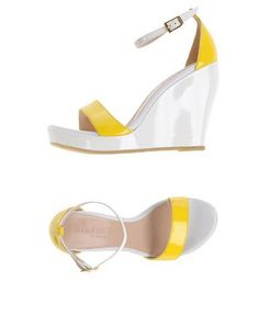 DIBRERA BY PAOLO ZANOLI Women's Sandals Yellow 7 US