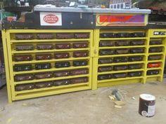 Model Train Layouts, Model Trains, Wine Rack, Liquor Cabinet, Storage, Furniture, Home Decor, Train Room, Purse Storage