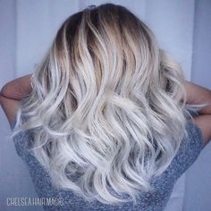 Beautiful ash blonde Balayage. She came in with a very brassy ombre and I was able to lift her to this level in one go. Some lift well some don't. Everyone's hair is different. She started with black hair and has done 2 sessions prior to seeing me. Due to high volume in texts please be patient and allow up to 3 days for response! Please schedule your apts in advance so you insure you have the dates and times that are good for you. I book out pretty quickly! You may text or call…