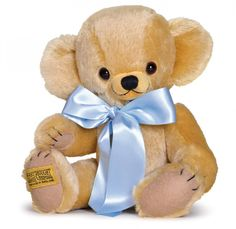 The Merrythought Cheeky Bear! How many cuddly toys keep their value? This one does. An heirloom bear to hand down to grandchildren.