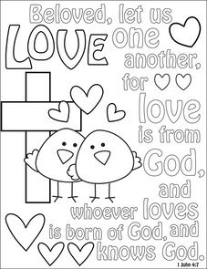 children church coloring pages FREE color sheets and printables for kids! | Free Fonts and  children church coloring pages
