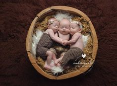Triplet photography ideas