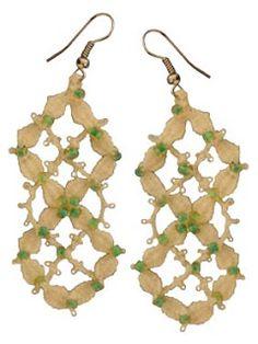 Bobbin Lace, Drop Earrings, Jewels, Accessories, Bracelets, Xmas, Craft, Lace Jewelry, Bobbin Lacemaking