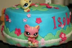 Littlest Pet Shop Birthday cake. by creative and delicious sweets (Sandy), via Flickr