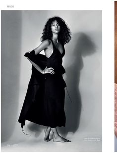French model Noemie Lenoir gets her closeup on the May 2017 cover of L'Officiel Switzerland. Photographed by Dan Smith, the curly haired stunner wears a black dress and jacket from BOSS. In the accompanying spread, Noemie serves pure seduction in looks from the summer collections. Stylist Lorna McGee dresses the face of Balmain Hair in... [Read More]