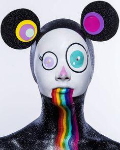 Amazing Japanese Pop Art Face Painting – Fubiz Media