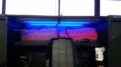 Lights on fuel tanks