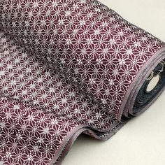 Purple, tanmono kimono cloth / 厚地で帯地の着尺地反物 http://www.rakuten.co.jp/aiyama #Kimono #Japan #aiyamamotoya