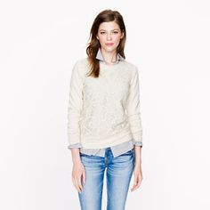 new for fall - J Crew - love this look