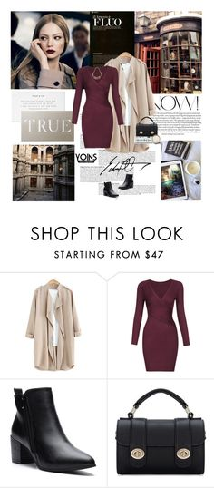 """31/12/2016 Yoins"" by dunoni ❤ liked on Polyvore featuring Anja, Caffé, yoins and loveyoins"