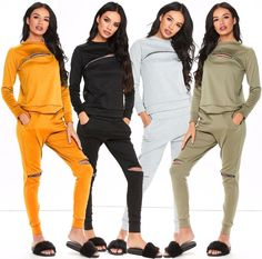 #Womens #Zip #Ribbed #Sweatshirt #Joggers #Loungewear #Ladies #Stretchy #Tracksuit #LongSleeves #UK #gym https://www.ebay.co.uk/itm/302511262207?roken=cUgayN&soutkn=iLqZjJ via @eBay  #Tracksuit