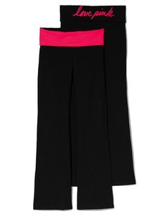 Bling Bootcut Yoga Pant - Victoria's Secret PINK - Victoria's Secret- xs. I like any but the black legs (instead of grey, etc)