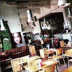 Espressobar Posse Rotterdam Katendrecht #design #industrial #vintage