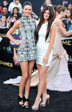 "Kylie Jenner Photos - Premiere Of Lionsgate's ""The Hunger Games"" - Arrivals - Zimbio"