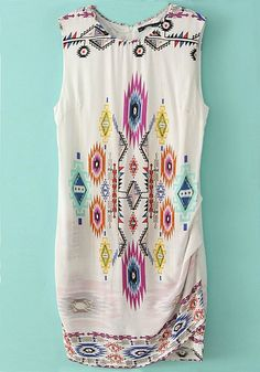 Boho Colorful Tribal Shirt ~Pinterest~ casssiiieee000