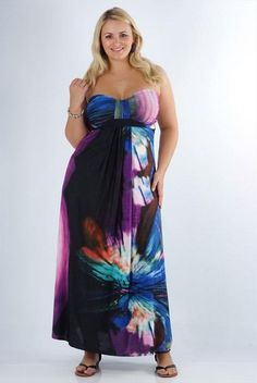 Latest Summer Dresses Fashion Trends for Plus Size Women 10 200x300 ...