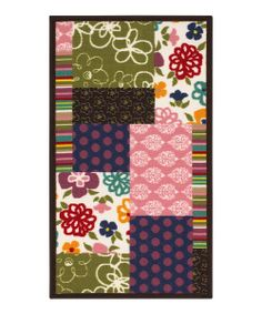 Cover the kids' bedroom floors with fun! This durable rug boasts loop pile construction combined with a playful print and lends warmth to any décor scheme. Its nonslip backing also makes it perfect for playtime!Available in multiple sizesRug thickness: 0.25''100% nylon loop pileImport...