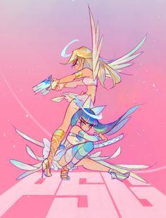 Panty and stocking Cartoon Kunst, Anime Kunst, Cartoon Art, Anime Art, Geek Wallpaper, Panty And Stocking Anime, Arte Emo, Ange Demon, Estilo Anime