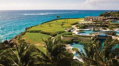 SAINT PHILIP, BARBADOS: Hmm, from which of the Crane Resort's many pools should you marvel at the piercing blue sky and sea of Crane Beach? The lagoon pools? The infinity pools? Or the plunge pools? First opened in 1887, the Crane Resort is considered the first true Caribbean resort. With its gleaming grounds, four 4 restaurants, and world-class spa, it's no wonder that this the Crane Resort is the glam honeymooner's heaven—and so many pools to canoodle in.