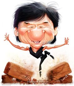 Jackie Chan caricature by Mahesh Nambiar from Kerala, India is a lead animator at Auryn Inc based at Pune. His stunning caricatures won many gold medals at the global caricature contest.