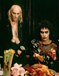 The Rocky Horror Picture Show - Richard O'Brien and Tim Curry