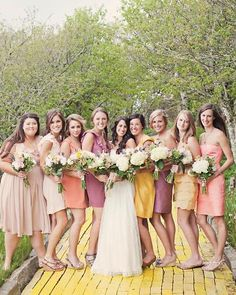 Holy shit, we worked this girls wedd on beech mtn, and now her face is on the pinterest?? I think bc her wedd was featuredon martha stewart weddings. Wow.