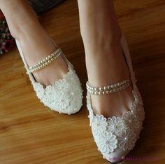 Gelinler için yeni moda renkli ayakkabılar