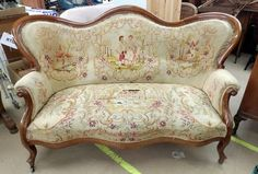Edwardian (1901-1910) Edwardian Antique Rococo Solid Carved Walnut 3 Seater Salon Canape Sofa Settee Goods Of Every Description Are Available