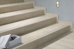 porcelain tile on stairs - Google Search