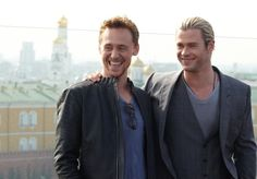 Chris Hemsworth And Tom Hiddleston Have The Hottest Bromance To Ever Exist