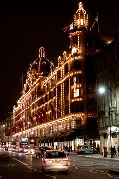 Harrods - London- I have actually seen this in person and the pic does not do Harrods at Christmas time, justice.
