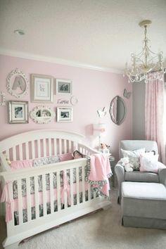 Pink : Almost Pink / Cradle Pink - Glidden Gray - Knitting Needles - Sherwin Williams