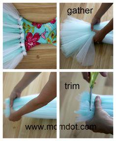 Tutu Bow Holder DIY Tutorial  part 2, Perfect for a Princess Collection | MomDot.com