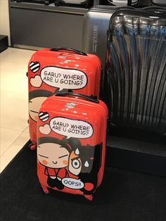 Suitcases with something to say - from Samsonite