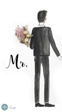 Printable: Mr & Mrs Smartphone Wallpapers from Love, Limzy Cute Couple Wallpaper, Love Wallpaper, Iphone Wallpaper Couple, Wedding Couples, Cute Couples, Married Couples, Couple Wallpaper Relationships, Wallpaper Wedding, Special Wallpaper