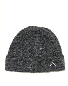 Boot Camp Alpaca Hat - Charcoal Luxe Merino Wool/Alpaca blend knit cap with tonal embroidered logo. - 70% Merino Wool/ 30% Alpaca. - Made in New York.